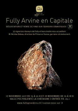 Fully Arvine en Capitale 2017
