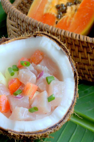 recette de thon à la tahitienne